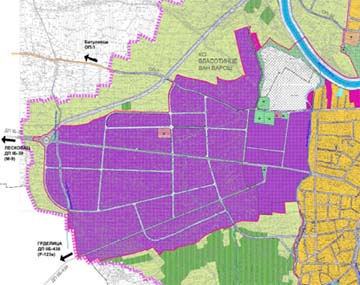 "Plan detaljne regulacije ""Industrijska zona Vlasotince - Slatina"""