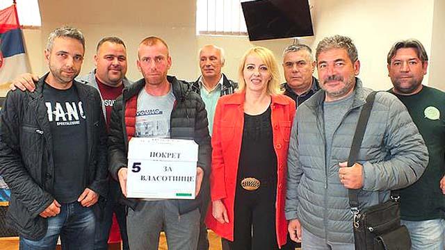 """""""Покрет за Власотинце – Само храбро – др Славољуб Митов"""" је пета проглашена листа"""